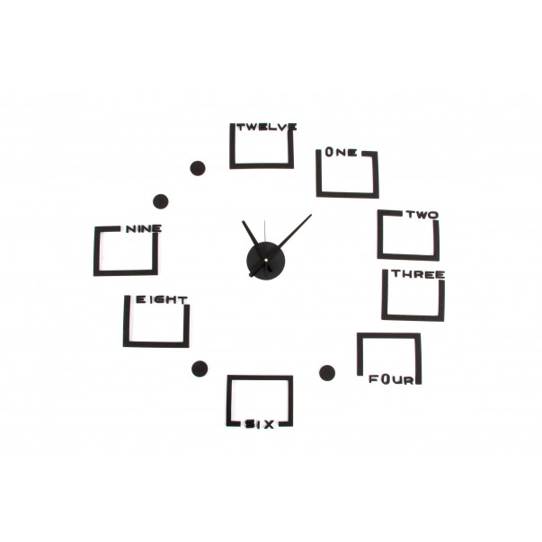 Wall clock with picture frames