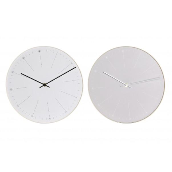 Wall clock dandelion light