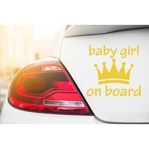 Baby girl on board 1