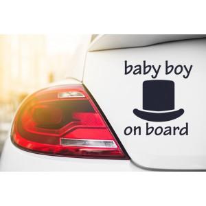 Baby boy on board 2