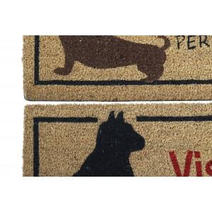 Dog-cat floor mat