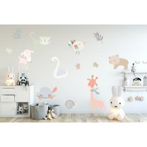 Pastel animals