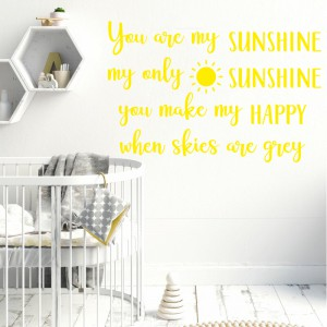 Quote you are my sunshine