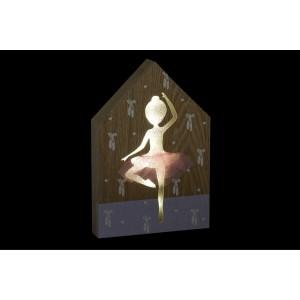 Decorative lantern ballerina