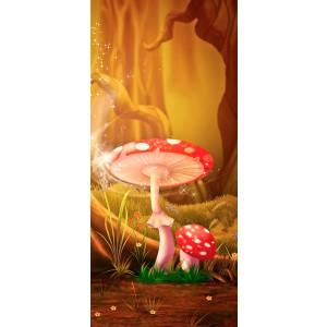 WALLPAPER - Red mushroom