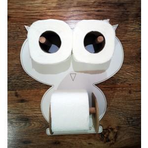 Toilet paper holder - owl
